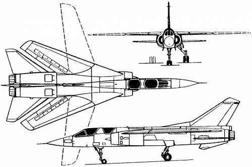 Dassault Mirage G / G8 (France) (1967)