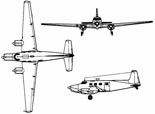 de Havilland Australia DHA-3 Drover (Australia) (1948)