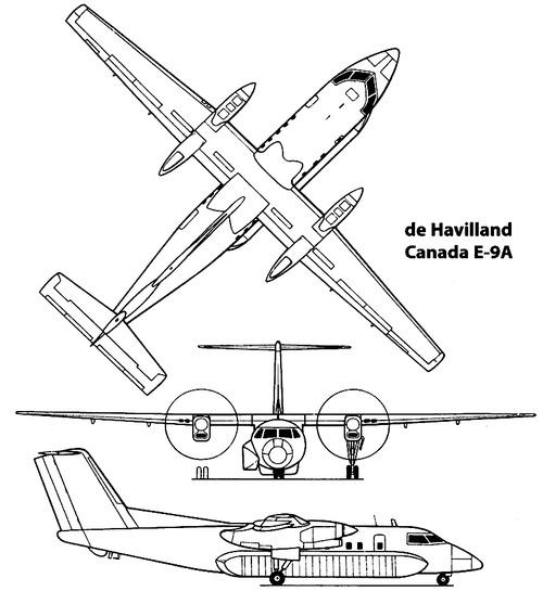 de Havilland Canada Bombardier E-9A Widget