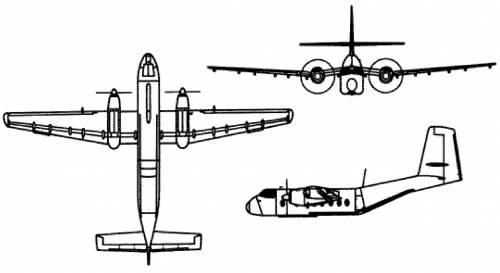 de Havilland Canada Caribou C-7A