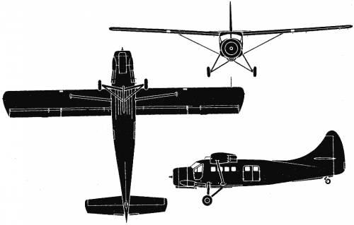 de Havilland Canada DHC3 Otter (Canada) (1951)