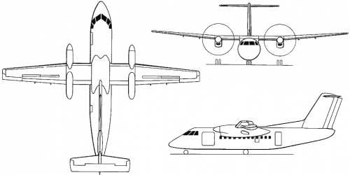 de Havilland Canada DHC8 / Bombardier Series 100 / 200 / Q200 (Canada) (1983)