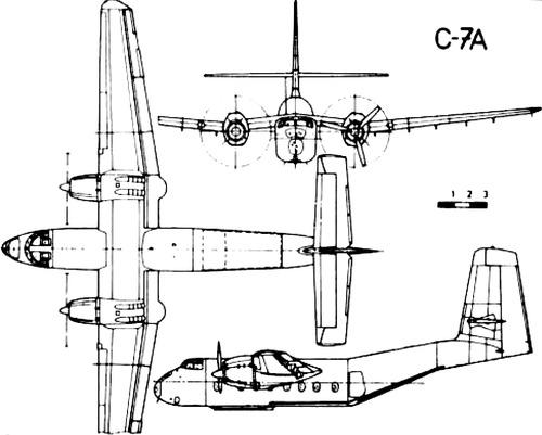 de Havilland Canada DHC-4 Caribou C-7A
