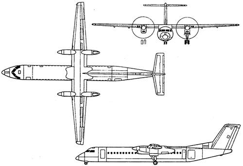 de Havilland Canada DHC-8 - Bombardier Dash-8
