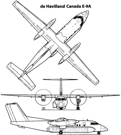 de Havilland Canada E-9A Widget