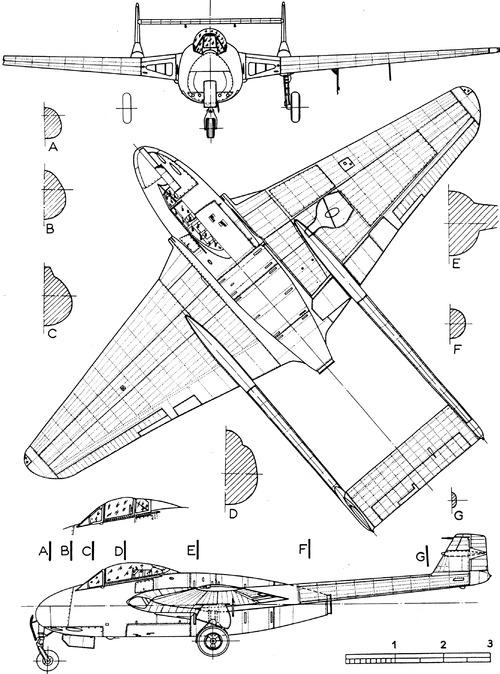 de Havilland DH.100 Vampire F.Mk.I