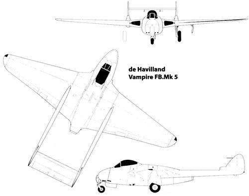 de Havilland DH.100 Vampire FB.5