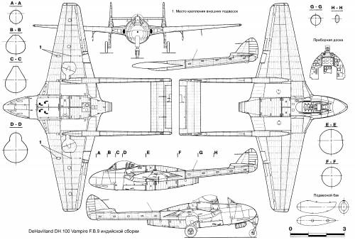 de Havilland DH.100 Vampire FB.9