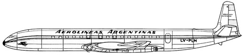 de Havilland DH.106 Comet 4