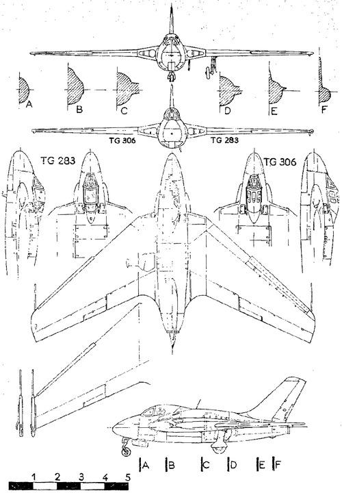 de Havilland DH.108 Swallow