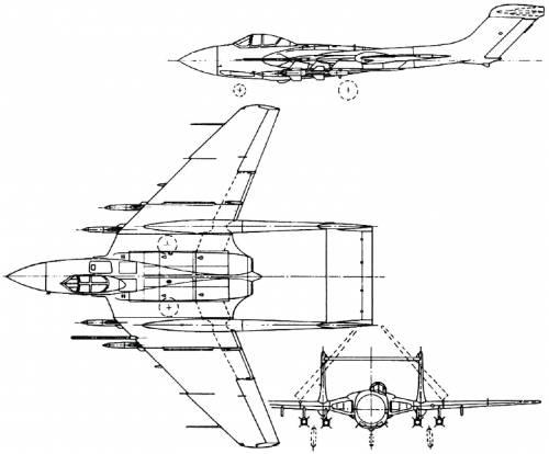 de Havilland DH.110 Sea Vixen (England) (1951)