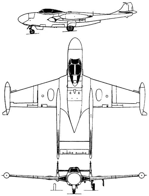 de Havilland DH.112 Sea Venom FAW.Mk.XXII