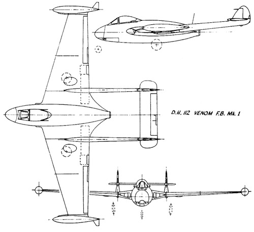 de Havilland DH.112 Sea Venom FB Mk.I