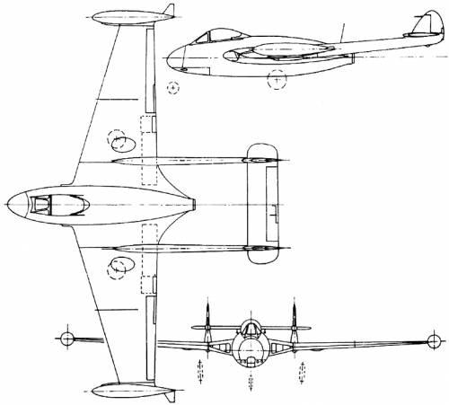 de Havilland DH.112 Venom (England) (1949)