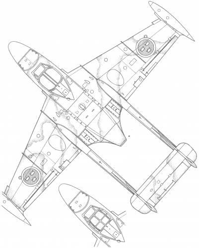 de Havilland DH.112 Venom (J-33)