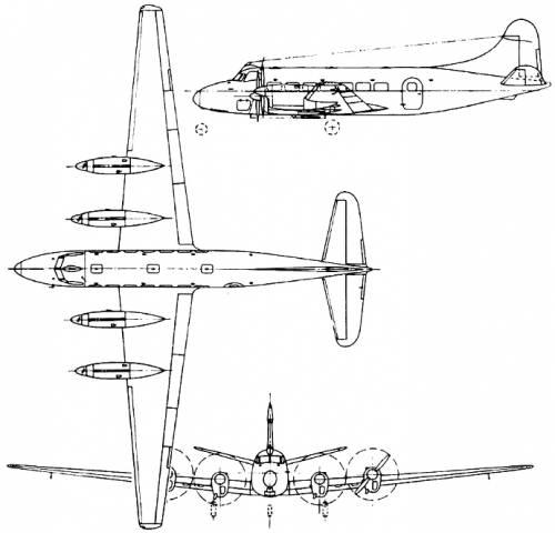 de Havilland DH.114 Heron (England) (1950)