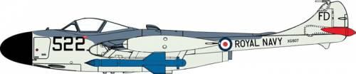De Havilland Sea Venom FAW.21