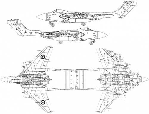 De Havilland Sea Vixen FAW.1