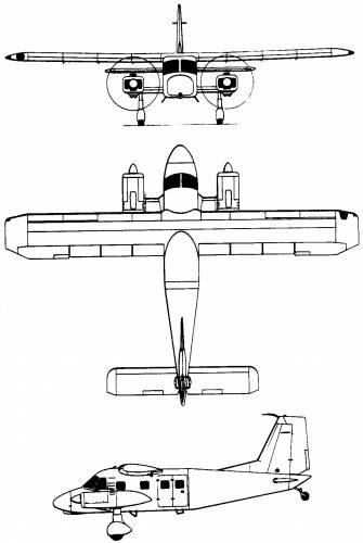 Dornier Do 28D / Do 128 Skyservant (Germany) (1966)