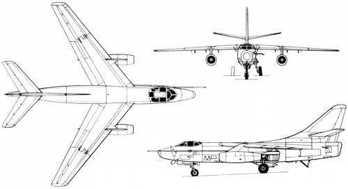 Douglas A-3 (A3D) Skywarrior (USA) (1952)