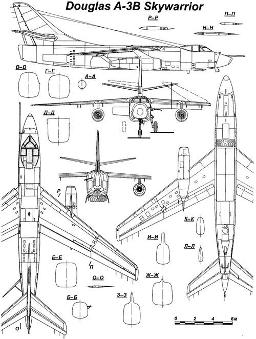 Douglas A-3B Skywarrior (A3D-2)