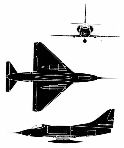 Douglas A-40 1 Skyhawk