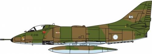 Douglas A-4P Skyhawk