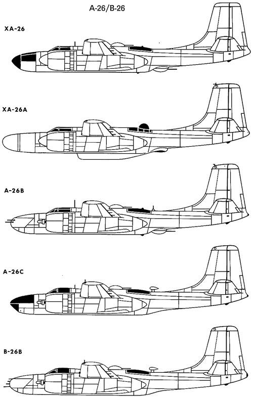 Douglas A-B-26 Invader