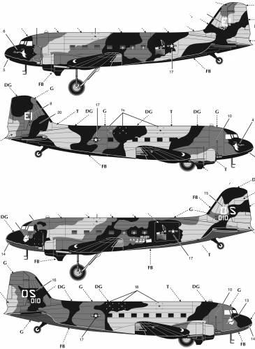 Douglas AC-47 Spooky Vietnam Gunship