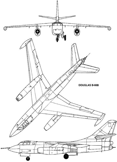 Douglas B-66B Destroyer