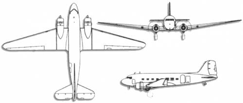 Douglas C-47 Skytrain Dakota