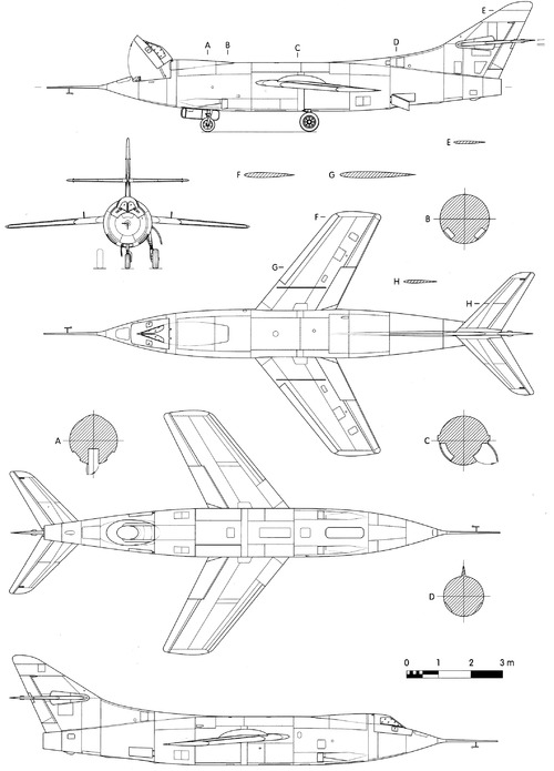 Douglas D-558-2 Skyrocket X-2