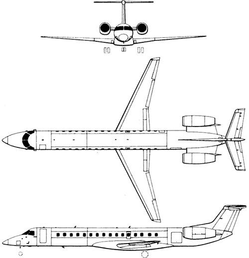 Embraer E145