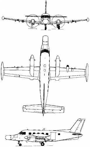 Embraer EMB-110/111 Bandeirante (Brazil) (1968)