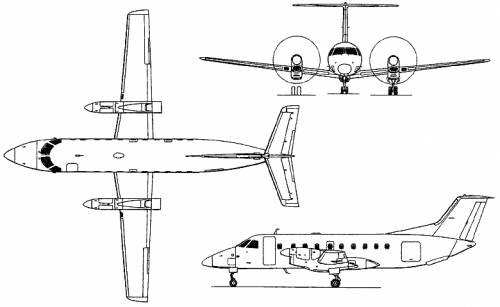 Embraer EMB-120 Brasilia (Brazil) (1983)