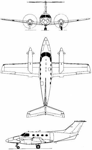 Embraer EMB-121 Xingu (Brazil) (1976)