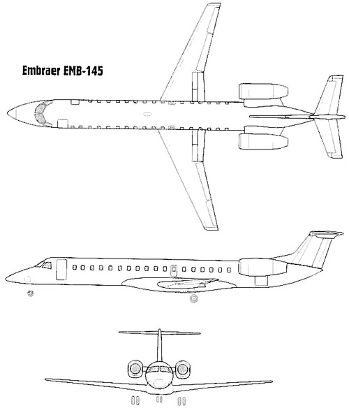 Embraer EMB 145 Amazon
