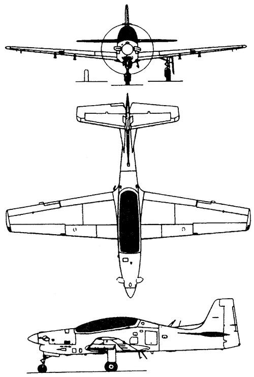 Embraer EMB 312 Tucano