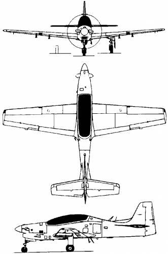 Embraer EMB-312 Tucano (Brazil) (1980)