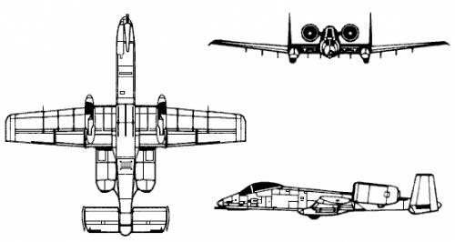 Fairchaild A-10 Thunderbolt
