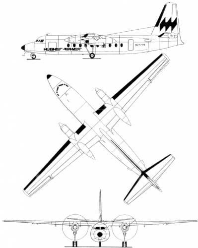 Fairchild F-27A