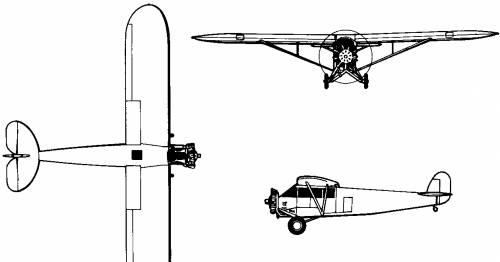 Fairchild FC-1 / FC-2 (USA) (1926)