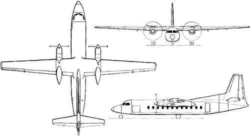 Fairchild-Hiller FH-227 Friendship