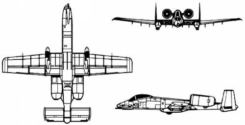 Fairchild Republic A-10A Thunderbolt