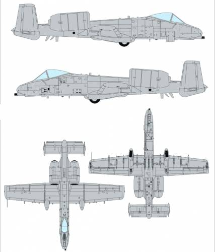 Fairchild Republic A-10A Thunderbolt II