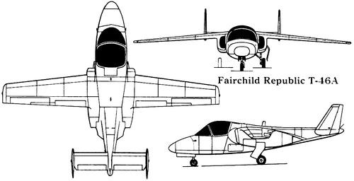 Fairchild-Republic T-46A Eaglet