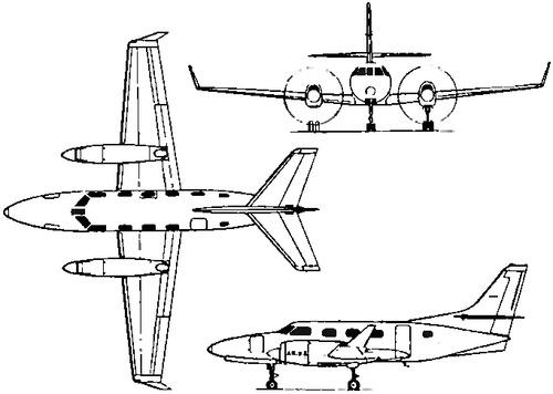 Fairchild Swearingen Merlin 300