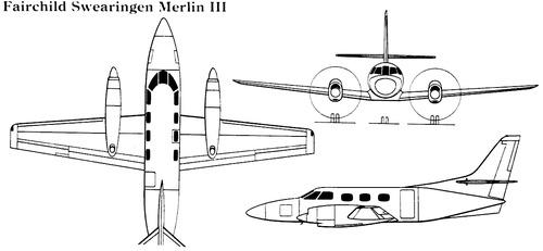Fairchild Swearingen Merlin III