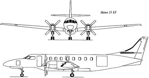 Fairchild Swearingen SA227-DC Metro 23 EF