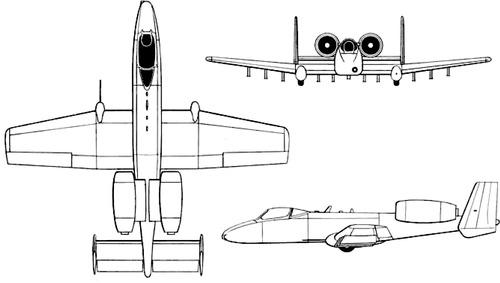 Fairchild YA-10A
